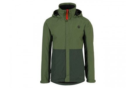 Regenjas Agu Section H, army green/green, S